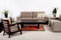 Interior moderno da sala de visitas Foto de Stock Royalty Free