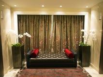 Interior moderno da sala de visitas Fotos de Stock