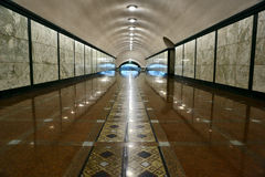 Interior moderno de la calzada Fotos de archivo libres de regalías