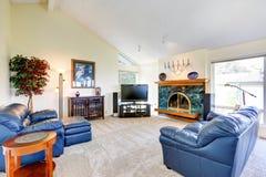 Interior moderno de la casa Fotografía de archivo libre de regalías