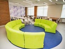 Interior moderno de la escuela Imágenes de archivo libres de regalías