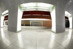 Interior moderno de la estación Foto de archivo