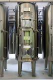 Interior moderno de la fábrica del vino Foto de archivo libre de regalías