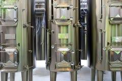 Interior moderno de la fábrica del vino Fotografía de archivo