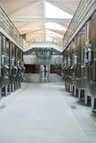 Interior moderno de la fábrica del vino Fotos de archivo libres de regalías