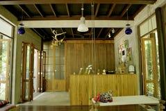 Interior moderno de la naturaleza Imágenes de archivo libres de regalías