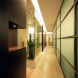 Interior moderno de la oficina Imágenes de archivo libres de regalías