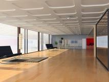 Interior moderno de la oficina Foto de archivo libre de regalías
