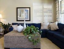 Interior moderno de la sala de estar Fotos de archivo libres de regalías