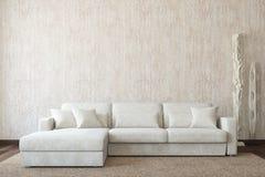 Interior moderno de la sala de estar. Imagenes de archivo