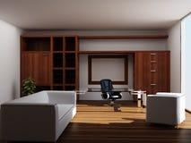 Interior moderno de um escritório fotografia de stock royalty free