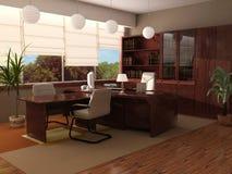 Interior moderno de una cabina imagen de archivo libre de regalías
