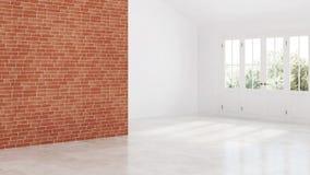 Interior moderno de una casa de campo Proyecto de diseño almacen de metraje de vídeo