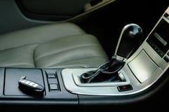 Interior moderno del coche Imagen de archivo libre de regalías