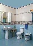 Interior moderno del cuarto de baño Fotos de archivo libres de regalías