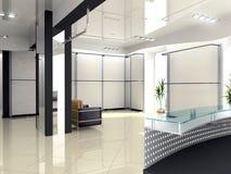 Interior moderno del departamento ilustración del vector