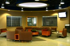 Interior moderno del edificio Foto de archivo