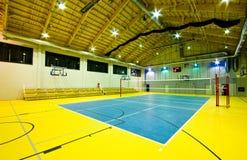 Interior moderno del gimnasio Imagen de archivo libre de regalías