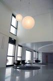 Interior moderno del hotel fotografía de archivo libre de regalías