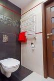 Interior moderno do banheiro Fotografia de Stock