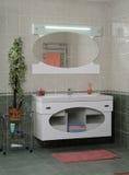Interior moderno do banheiro Fotografia de Stock Royalty Free