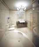 Interior moderno do banheiro Fotos de Stock