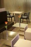 Interior moderno do café Fotografia de Stock Royalty Free