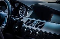 Interior moderno do carro Fotografia de Stock Royalty Free
