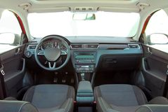 Interior moderno do carro Fotos de Stock