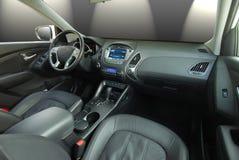 Interior moderno do carro Fotos de Stock Royalty Free