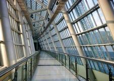 Interior moderno do edifício Fotografia de Stock Royalty Free