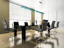 Interior moderno do escritório Fotos de Stock