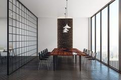 Interior moderno do quarto de reunião Fotos de Stock Royalty Free