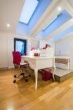 Interior moderno do sotão Foto de Stock Royalty Free