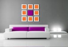 Interior moderno essencial Imagens de Stock