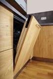 Detalle de la cocina en casa Imagenes de archivo