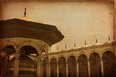 Interior of Mohamed Ali mosque ,Cairo Egypt Royalty Free Stock Photos