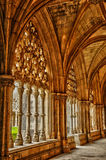 Interior of monastery of Batalha in Portugal Stock Photography