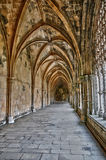 Interior of monastery of Batalha in Portugal Royalty Free Stock Photos