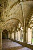 Interior of Monastery of Veruela Stock Photography