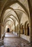 Interior of Monastery of Veruela Royalty Free Stock Photo