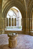 Interior of Monastery of Veruela, Zaragoza Province, Aragon Royalty Free Stock Photos