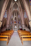 Interior of Montserrat Sanctuary Stock Photography