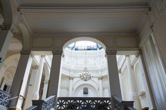 Interior of Mora Ferenc Museum in Szeged Stock Photography