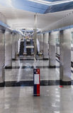 Interior Moscow metro station Royalty Free Stock Photos