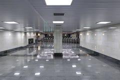 Interior Moscow metro station Royalty Free Stock Image