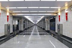 Interior Moscow metro station Royalty Free Stock Photos