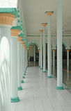 Interior of a mosque Royalty Free Stock Image