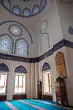 Interior of a mosque Royalty Free Stock Images