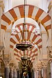 Interior of Mosque-Cathedral Royalty Free Stock Image